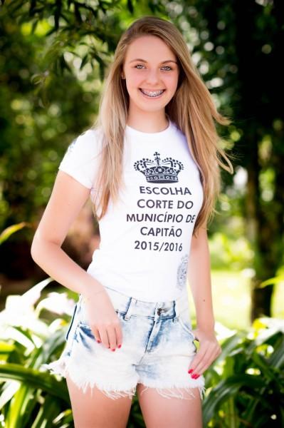 Letícia Borsatto - 16 anos