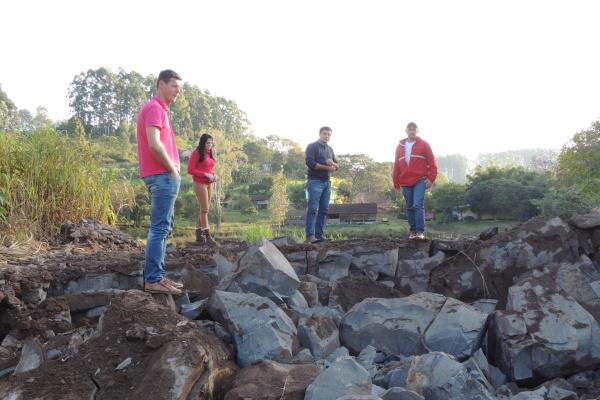 Obra aguardada pela comunidade de Alto Palmas está em andamento